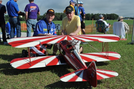 11 Greg Foushi & Walt Carnes prior to first flight at Top Gun 2013