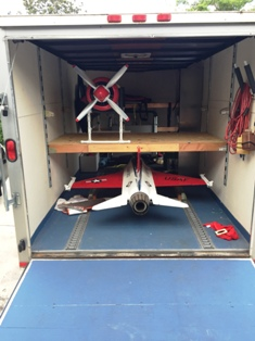 1 Bill Freeland's Trailer With Sawbones & his F-16 Jet