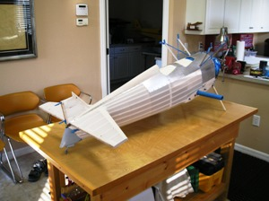 2 Fuselage ready for paint