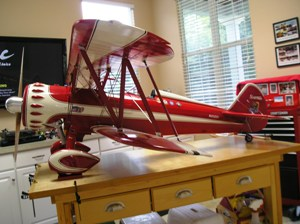 3 Walt's finished model of John's PT-17 N450SH2