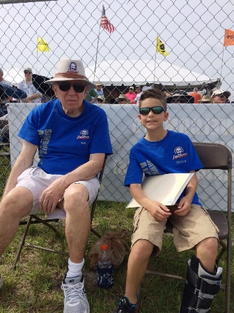 4 Grandpa Walt & Nikolaus Carnes at Top Gun April 3o, 2016.