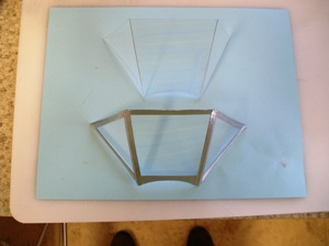 52 Building two windshields ou of .030 thick plastic & aluminun