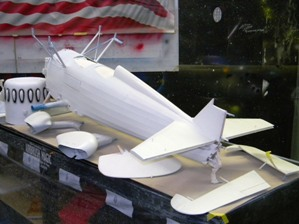 6 Cowl, fuselage, wheel pants & struts, rudder & elevator all painted with Randolph White.