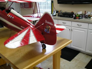 6 Stearman, Bulldog & tail light