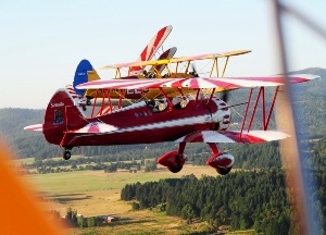 7 Cottage Grove, Oregon Stearman 2011 Flyin