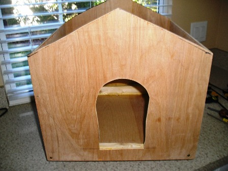 Building Prettyboy's Outside Cat House (4)