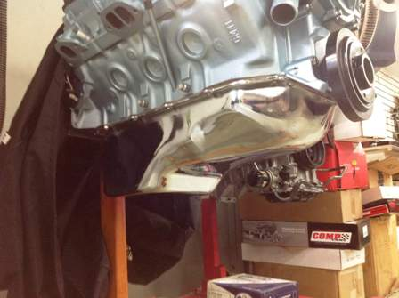 Finished Pontiac 350 Engine (6)