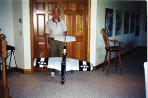 Me with my new P-51D June 2000
