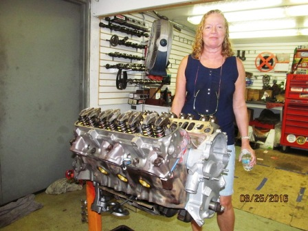 Pontiac 350 engine (9)
